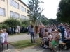 Einschulungs- und Eröffnungsfeier am 04. August 2012, Ballons steigen lassen, Bild 1
